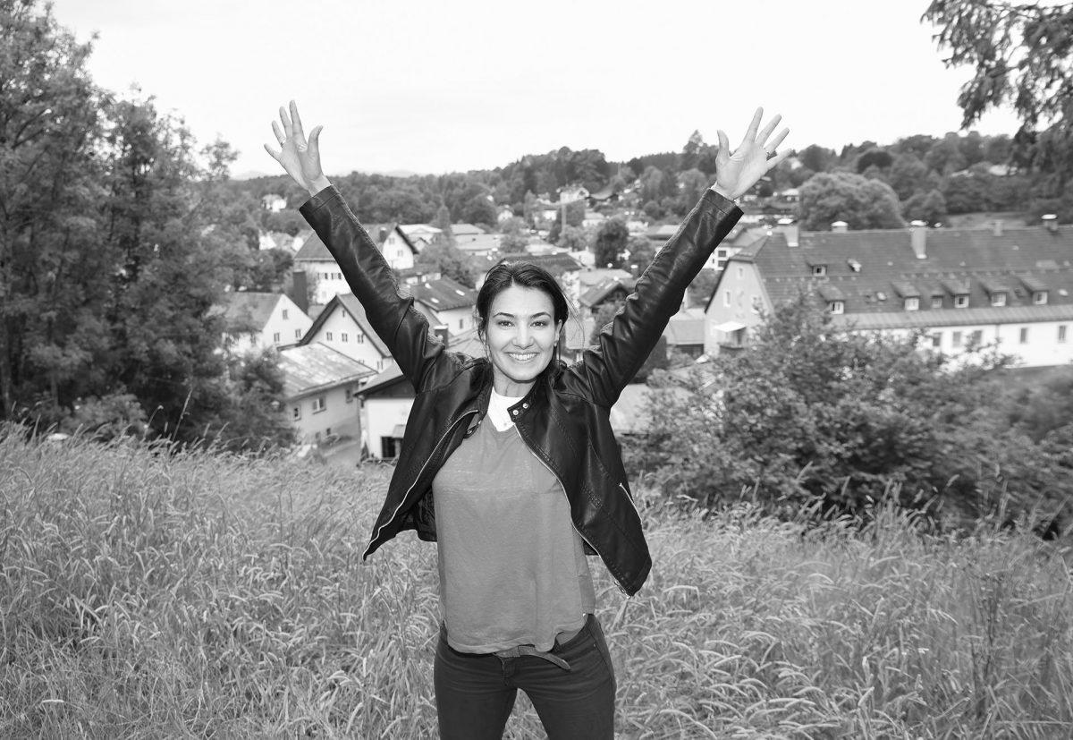 Schauspielerin Rosetta Pedone Shooting Miesbach Fotografie Fotograf Andreas Leder Tegernsee Schliersee Miesbach Oberland