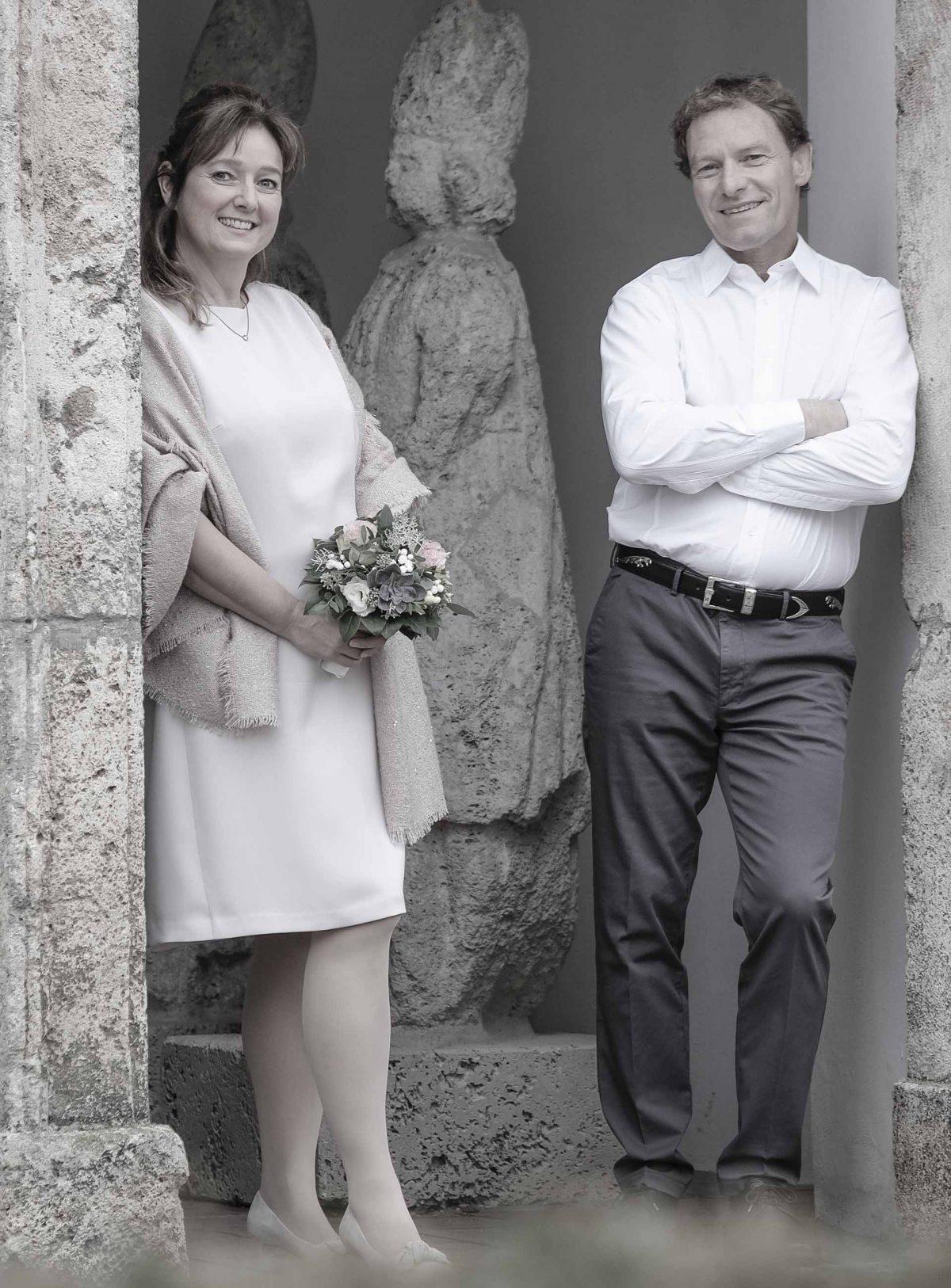 Hochzeit in Weyarn im Standesamt mit Paar Shooting