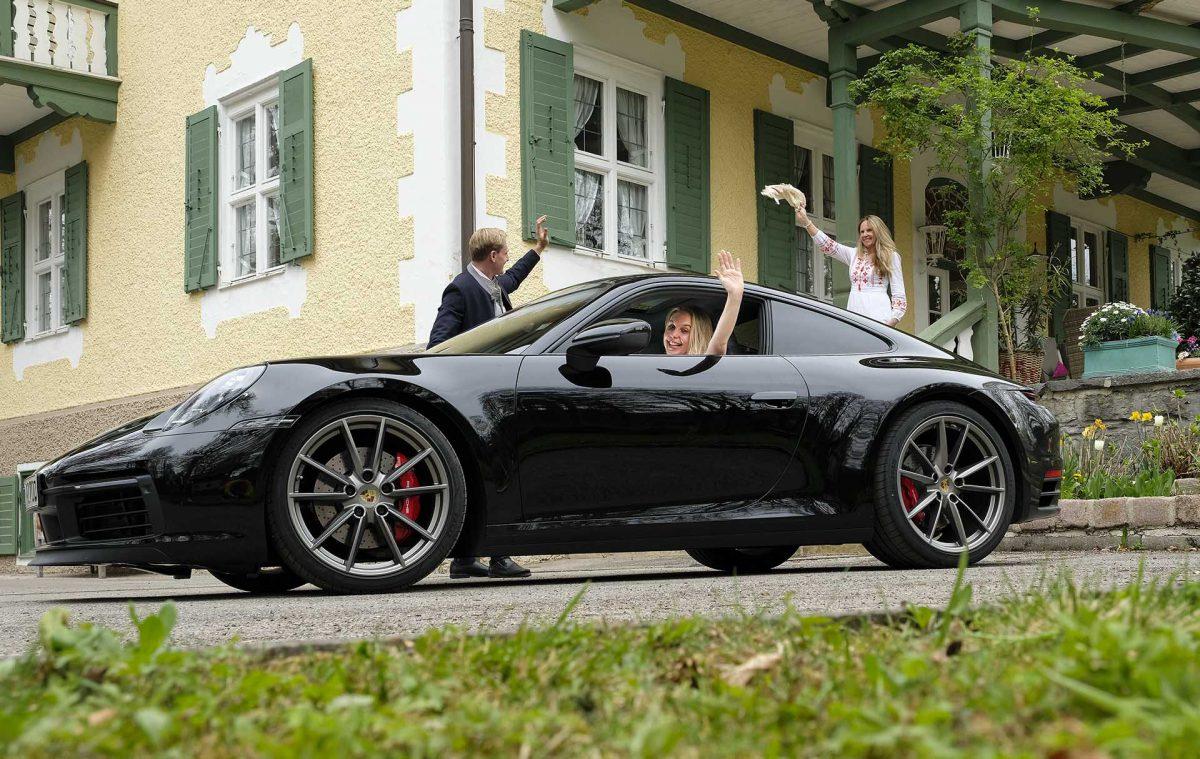 Porsche Tracht Shooting Fotografie Andreas Leder
